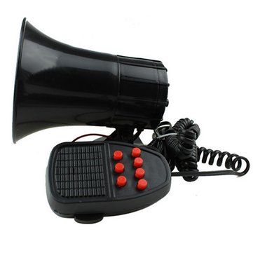 JC-1080 12V Car Motorcycle Seven-tone Loud Speaker