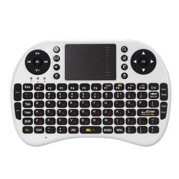 iPazzport Mini 2.4G Russia Layout Wireless Клавиатура Сенсорная панель Мышь Для Android ТВ-планшета