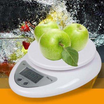 Honana HN-MS6 5KG / 1G Dijital LCD Elektronik Mutfak Posta Kutusu Tartılar Yemek Pişirme Ağırlığı Tartı