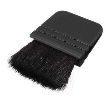 Черный плоский румяна щетка косметический макияж инструмент основа