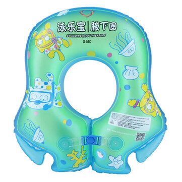 Summer Swimming Ring Inflatable Thicker Children Baby Kids Armpit Circle Floating Ring