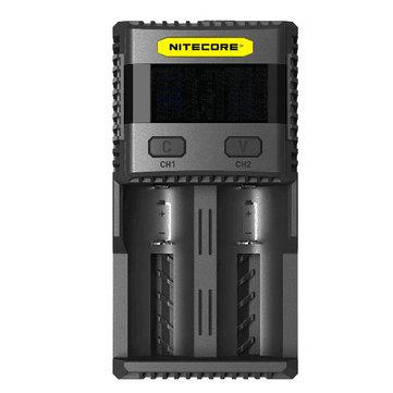 Nitecore SC2 3A carregador excelente inteligente para li-ion / imr / lifepo4 / bateria Ni-MH