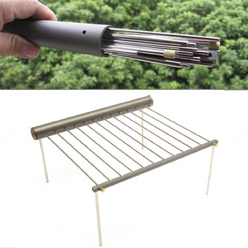 IPRee Outdoor draagbare BBQ Grill Folding Barbecue Ondersteuning Stand For Picknick Camping Stove Borden