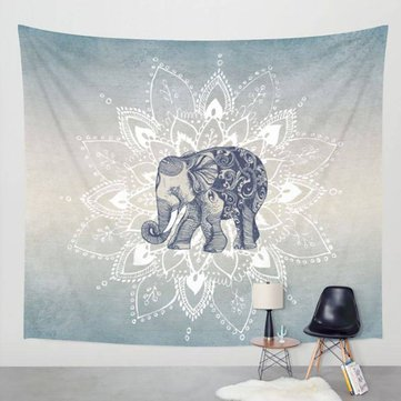 Indian Mandala Tapestry Wall Hanging Blanket Bedding Bedspread Beach Towels