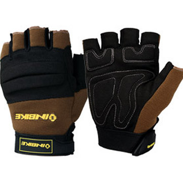 Half Finger Safety Bicycle Motorcycle Gloves for INBIKE