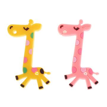 Girafe fil de câble de pellicule écouteurs bien rangé enrouleur pour casque mp3 mp4