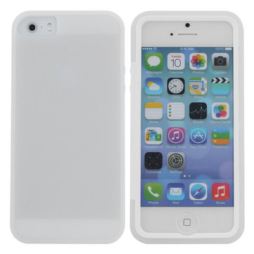 TPU Protective Case With Built In Screen Protector For iPhone 5 5S