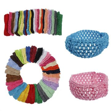 50 Bulk Girls Baby Toddler Crochet Headbrand Hair Band