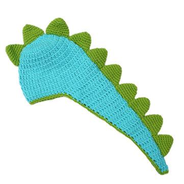 수제 아기 신생아 공룡 코체트 사진 의상 모자 의상