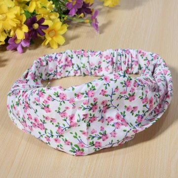 Cotton Printing Children Baby Girl Hair Band Headbrand Accessories