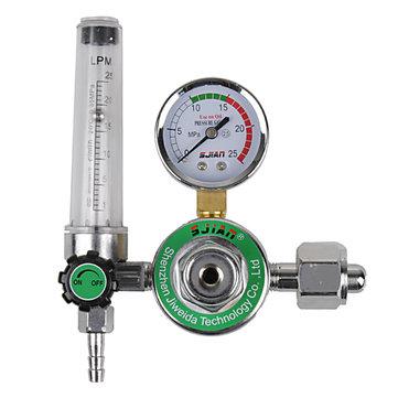AR Reducer Pressure Gas Flow Meter for Tig Welding Machines