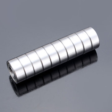 Buy 10pcs 8x19x6mm Steel Sealed Shielded Deep Groove Ball Bearings 698ZZ for $3.06 in Banggood store
