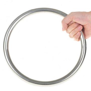 Вин Чун кунг фу обучение нержавеющей стали кольцо серебро