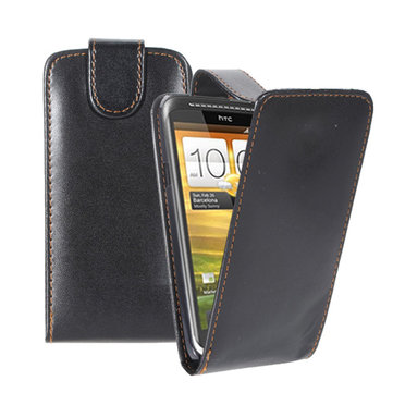 HTC One X rabat magnétique cuir PU étui de protection étui rigide