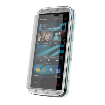 CLEAR LCD SCREEN PROTECTOR GUARD FOR NOKIA 5530